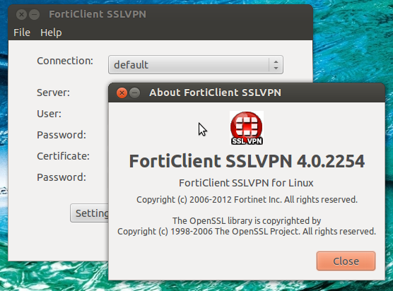 fortinet client